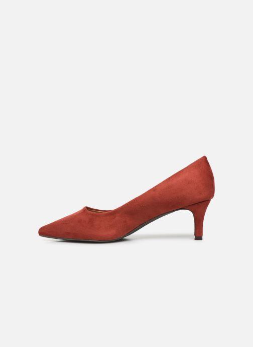Zapatos de tacón Vanessa Wu EC2046 Rojo vista de frente