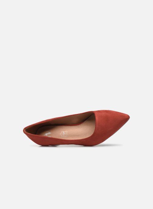 Zapatos de tacón Vanessa Wu EC2046 Rojo vista lateral izquierda