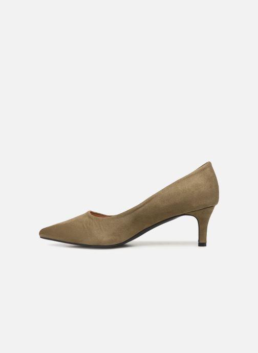 Zapatos de tacón Vanessa Wu EC2046 Verde vista de frente