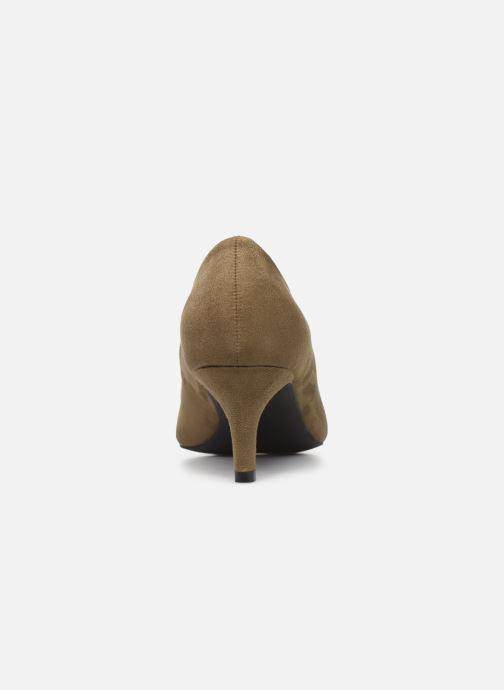 Zapatos de tacón Vanessa Wu EC2046 Verde vista lateral derecha
