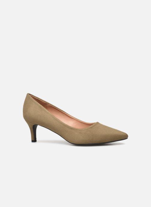 Zapatos de tacón Vanessa Wu EC2046 Verde vistra trasera