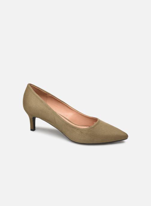 Zapatos de tacón Vanessa Wu EC2046 Verde vista de detalle / par