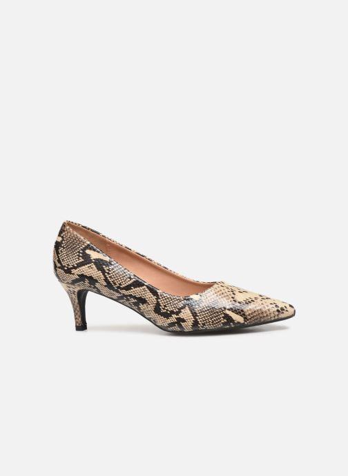 Zapatos de tacón Vanessa Wu EC2051 Beige vistra trasera