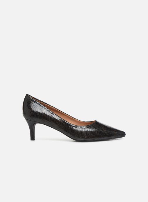 Zapatos de tacón Vanessa Wu EC2051 Negro vistra trasera