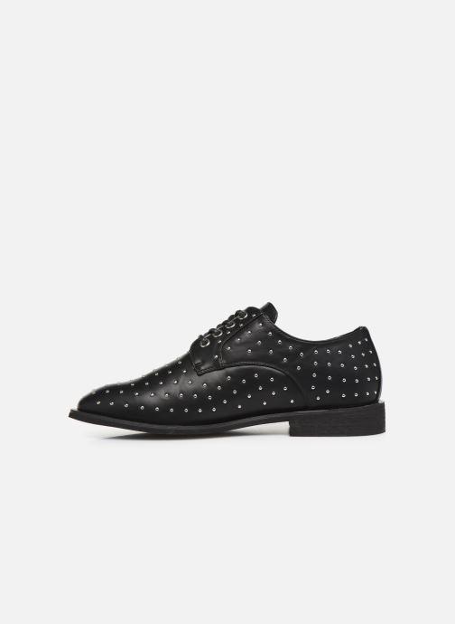 Zapatos con cordones Vanessa Wu RL2018 Negro vista de frente