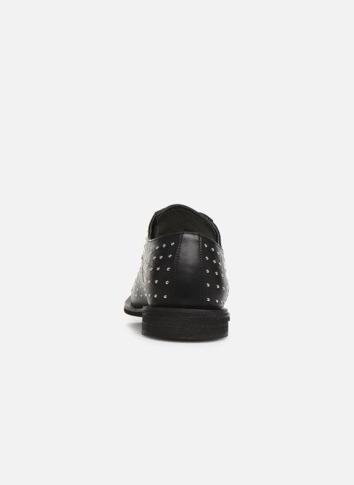 Zapatos con cordones Vanessa Wu RL2018 Negro vista lateral derecha