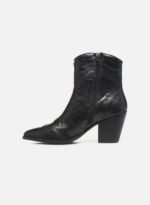 Boots en enkellaarsjes Vanessa Wu BT2030 Zwart voorkant