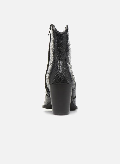 Boots en enkellaarsjes Vanessa Wu BT2030 Zwart rechts