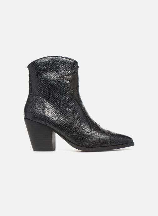 Boots en enkellaarsjes Vanessa Wu BT2030 Zwart achterkant