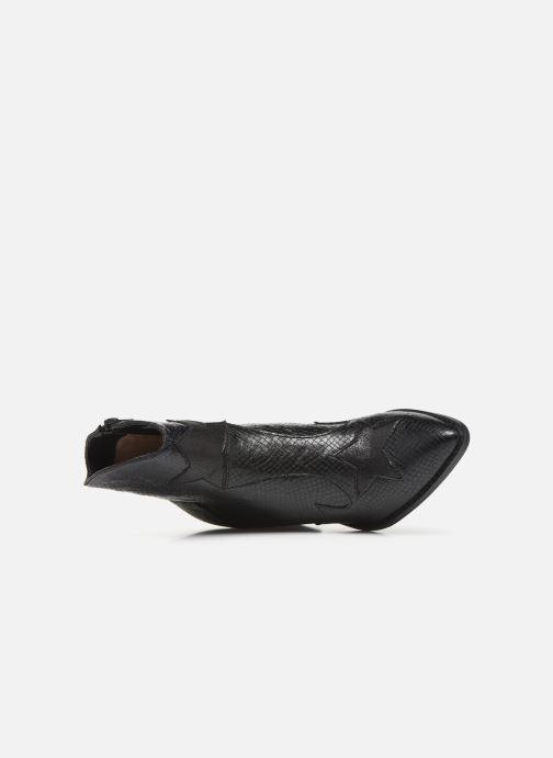 Boots en enkellaarsjes Vanessa Wu BT2030 Zwart links