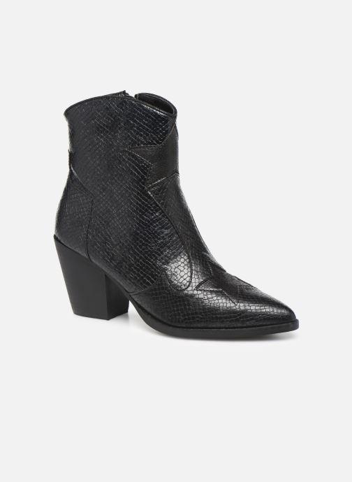 Boots en enkellaarsjes Vanessa Wu BT2030 Zwart detail