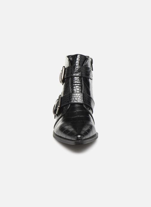 Bottines et boots Vanessa Wu BT2027 Noir vue portées chaussures