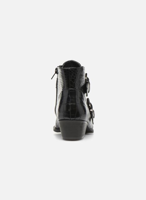 Boots en enkellaarsjes Vanessa Wu BT2027 Zwart rechts