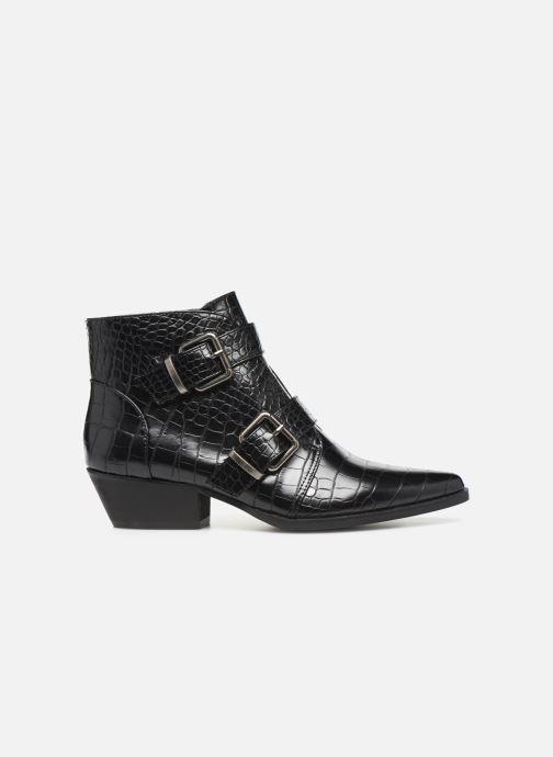 Boots en enkellaarsjes Vanessa Wu BT2027 Zwart achterkant