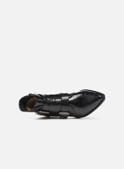 Boots en enkellaarsjes Vanessa Wu BT2027 Zwart links