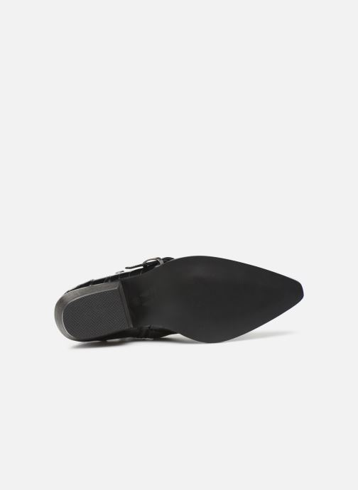 Bottines et boots Vanessa Wu BT2027 Noir vue haut
