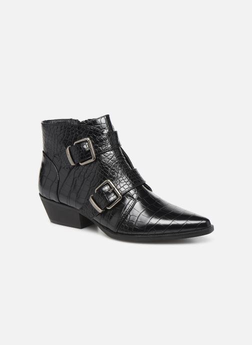 Boots en enkellaarsjes Vanessa Wu BT2027 Zwart detail