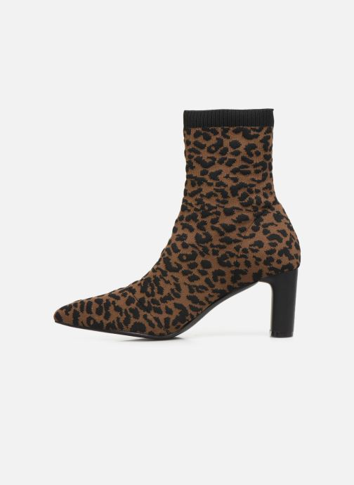 Ankle boots Vanessa Wu BT2053 Brown front view