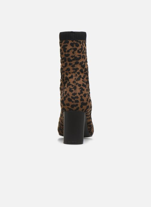 Ankle boots Vanessa Wu BT2053 Brown view from the right