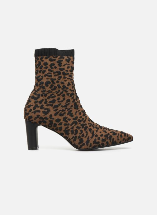 Ankle boots Vanessa Wu BT2053 Brown back view