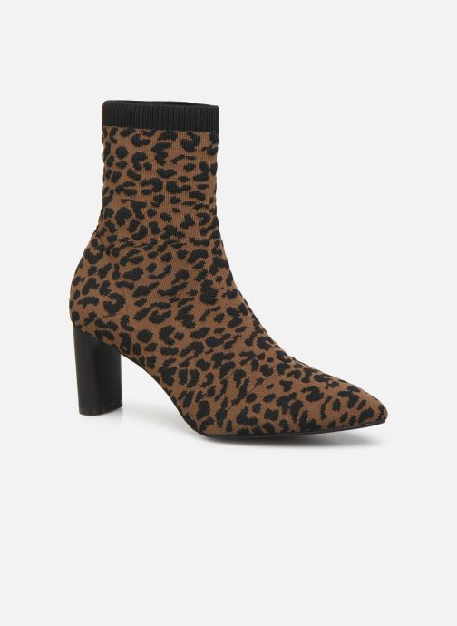 Ankle boots Vanessa Wu BT2053 Brown detailed view/ Pair view