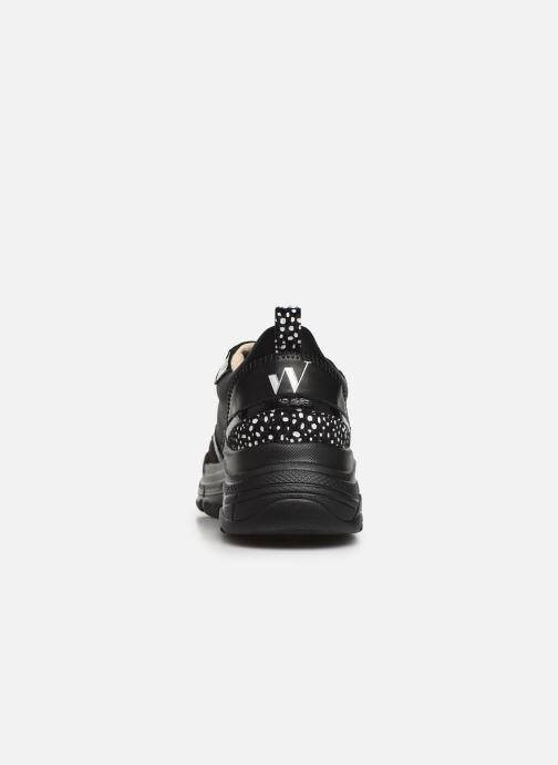 Sneakers Vanessa Wu BK2010 Zwart rechts