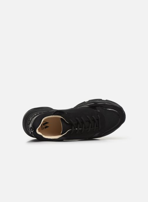 Sneakers Vanessa Wu BK2010 Zwart links