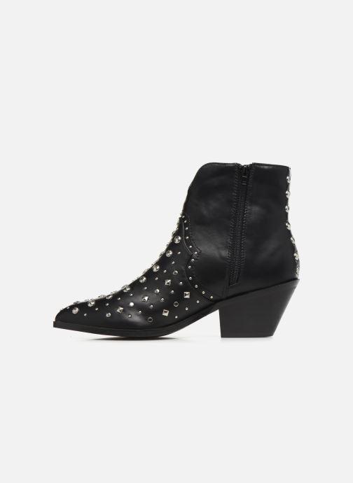 Bottines et boots Vanessa Wu BT1998 Noir vue face
