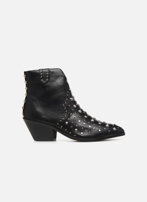 Boots en enkellaarsjes Vanessa Wu BT1998 Zwart achterkant
