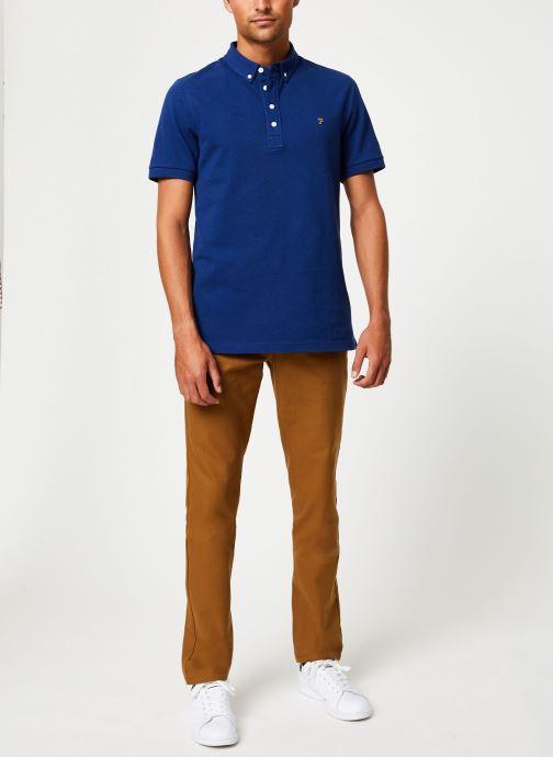 Vêtements Farah F4KF9059 Bleu vue bas / vue portée sac
