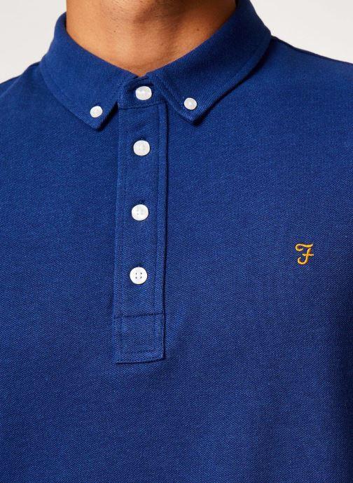 Vêtements Farah F4KF9059 Bleu vue face