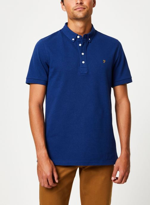 Vêtements Farah F4KF9059 Bleu vue détail/paire