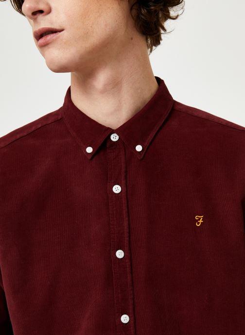 Vêtements Farah F4WF9017 Rouge vue face