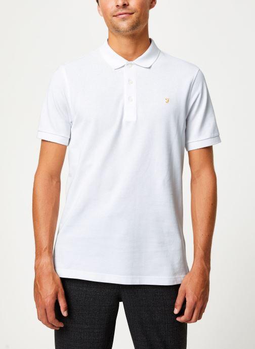 Vêtements Farah F4KF9057 Blanc vue détail/paire