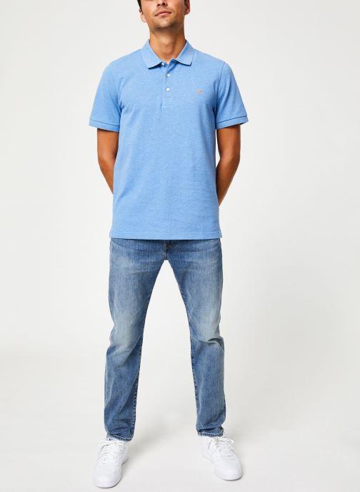 Vêtements Farah F4KF9057 Bleu vue bas / vue portée sac