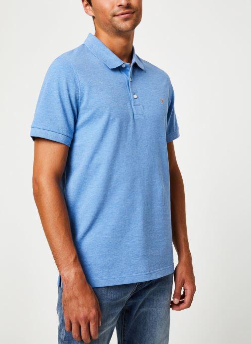 Vêtements Farah F4KF9057 Bleu vue droite