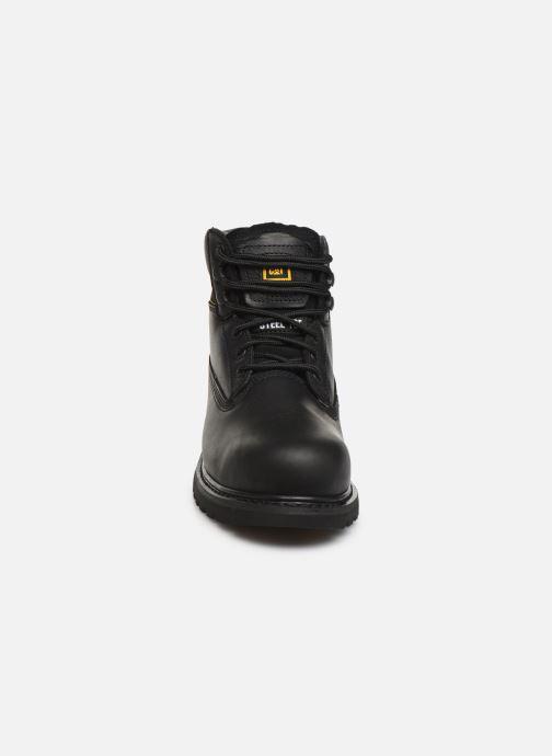 Bottines et boots Caterpillar Holton St Sb Hr Noir vue portées chaussures