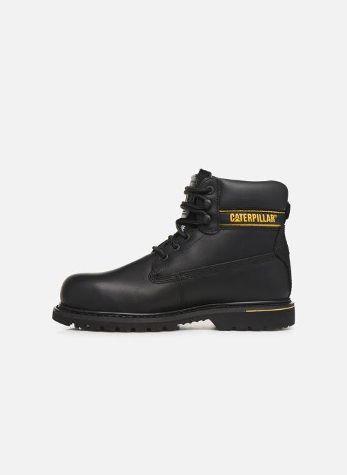 Bottines et boots Caterpillar Holton St Sb Hr Noir vue face
