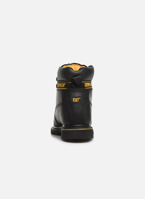 Bottines et boots Caterpillar Holton St Sb Hr Noir vue droite
