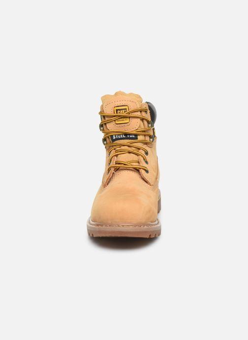 Stiefeletten & Boots Caterpillar Holton S3 Hro Src braun schuhe getragen