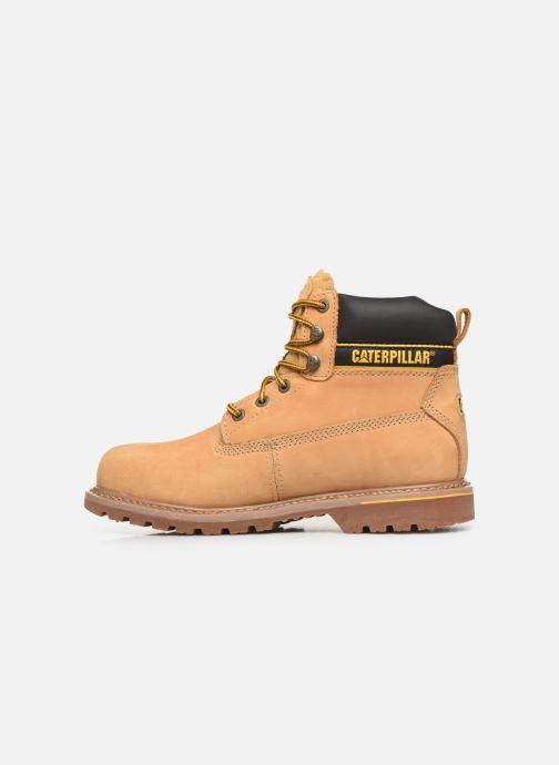 Stiefeletten & Boots Caterpillar Holton S3 Hro Src braun ansicht von vorne