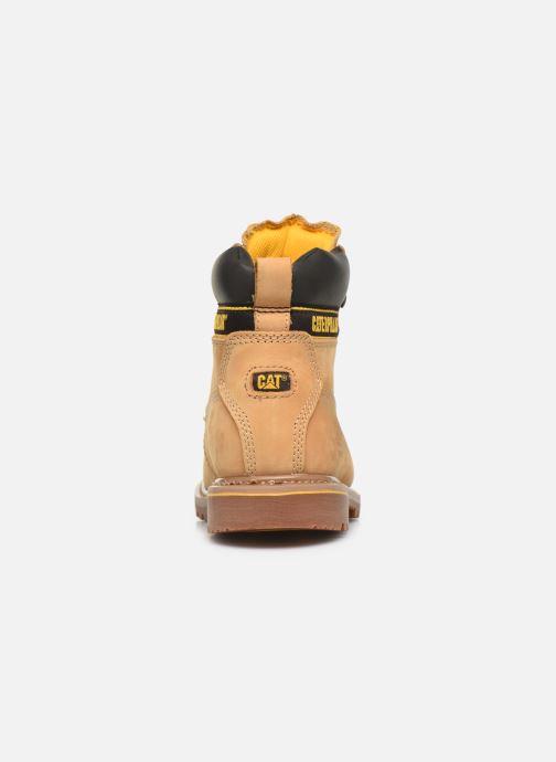 Stiefeletten & Boots Caterpillar Holton S3 Hro Src braun ansicht von rechts