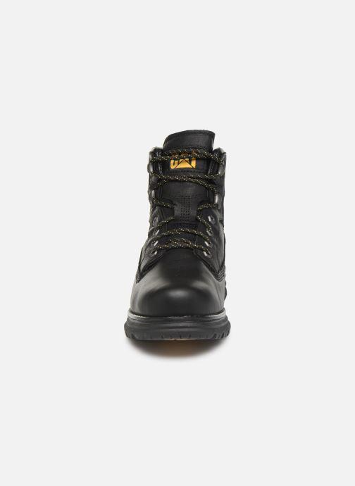 Stiefeletten & Boots Caterpillar Baseplate schwarz schuhe getragen