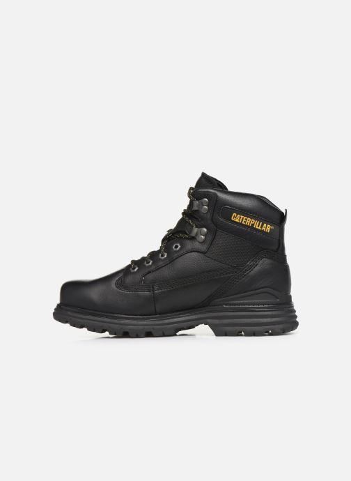 Stiefeletten & Boots Caterpillar Baseplate schwarz ansicht von vorne