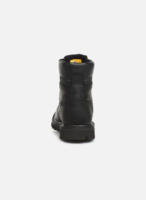 Ankle boots Caterpillar Deplete wp Deplete Black view from the right