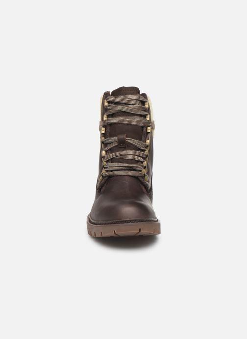 Bottines et boots Caterpillar Informer Informer Noir vue portées chaussures