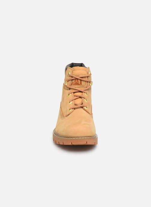 Bottines et boots Caterpillar Lyric Beige vue portées chaussures