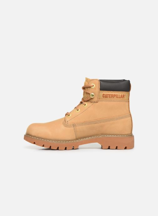 Ankle boots Caterpillar Lyric Beige front view