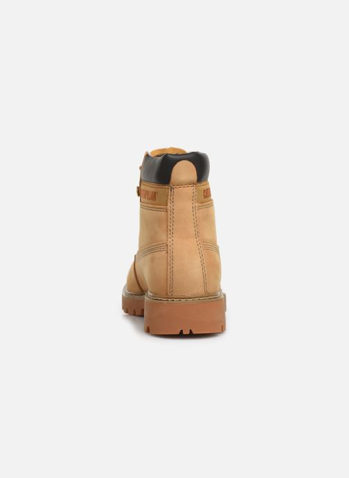 Ankle boots Caterpillar Lyric Beige view from the right