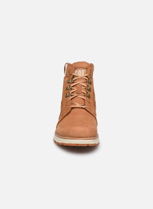 Bottines et boots Caterpillar Charli Marron vue portées chaussures